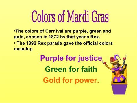 meaning of mardi gras colors mardi gras