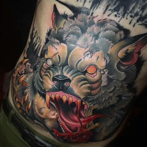 lycan tattoo designs amazing wolf idea best designs with meaning