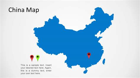 China Map for PowerPoint   SlideModel