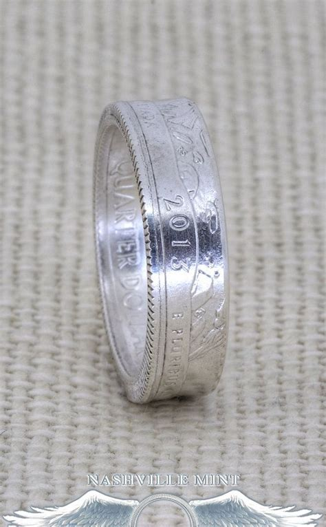 Wedding Bands In Maryland by 39 Best Silver Quarter Coin Ring Images On