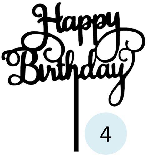 membuat tulisan happy birthday online jual cake topper tulisan happy birthday t04 organic