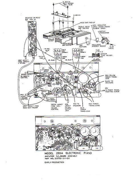 section 200a image gallery wurlitzer 200 schematic