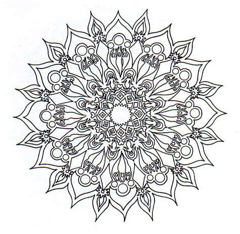 imagenes para dibujar no tan faciles m 225 ndalas para colorearco con soles 3 ilustration