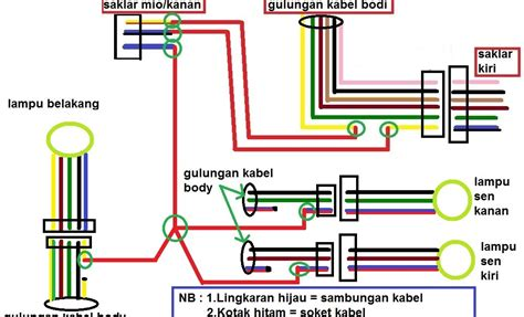 yamaha mio sporty electrical wiring diagram wiring diagram