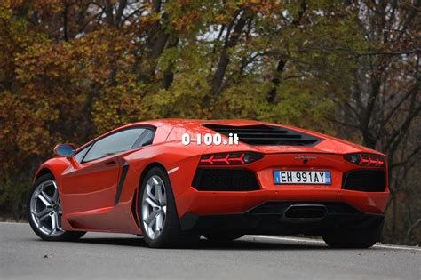 Lamborghini Aventador 0 To 100 by Prova Su Strada Lamborghini Aventador 0 100 Motori