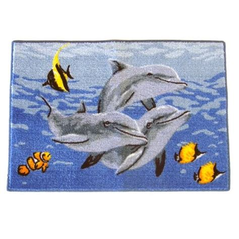 Dolphin Rug mainstays dolphin sea rug kid s room rugs rugs and dolphins