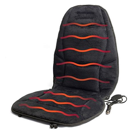 Heated Seat Pad For Office Chair by Wagan In9438 12v Heated Seat Cushion With Lumbar Support