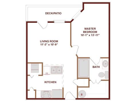 500 sq ft studio floor plans 500 square foot house plans 500 square feet apartment