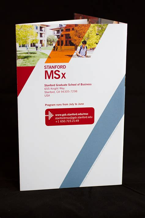Stanford Msx And Mba by Stanford Msx Brochure