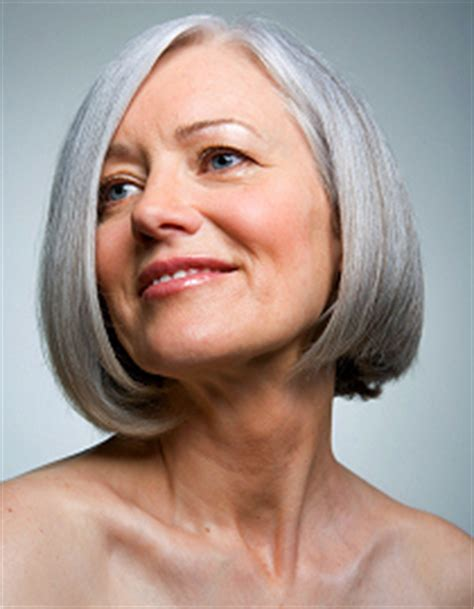dramatic colour changes for grey hair