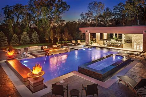 and beautiful luxury swimming pool designs for