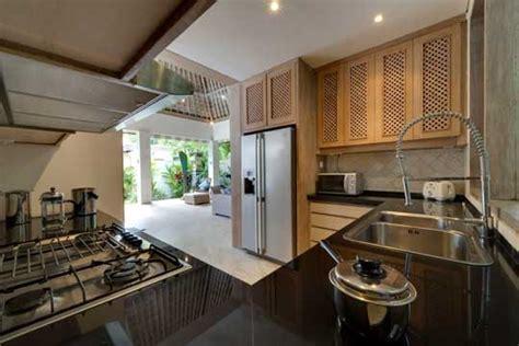 balinese kitchen design siri mendira villa cempaka candidasa bali villa