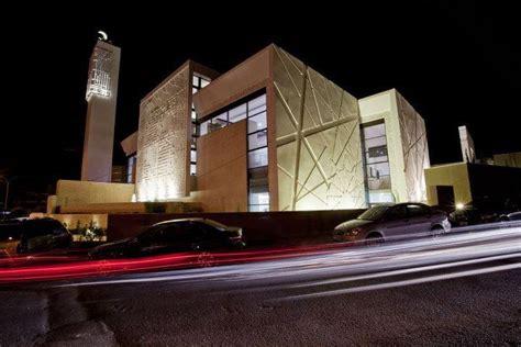 design masjid modern naji hamshari mosque in amman jordan modern mosques