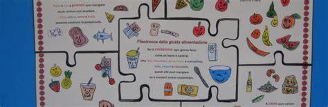 progetti scuola primaria alimentazione filastrocca della giusta alimentazione saltainbocca