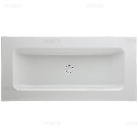 bette waschbecken bette betteone aufsatz waschtisch 110 x 53 cm ohne