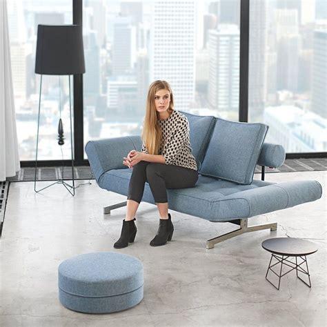 divani letto design divano letto singolo ghia in tessuto con cuscini e