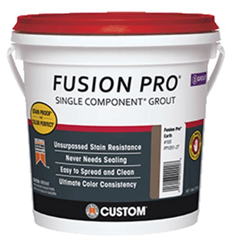 fusion pro grout colors custom grout single component grout
