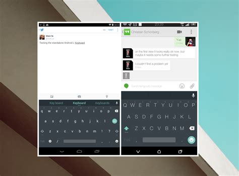 wallpaper for android keyboard android l s material keyboard now available on google play