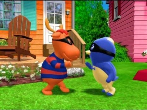 the backyardigans race to the tower of power