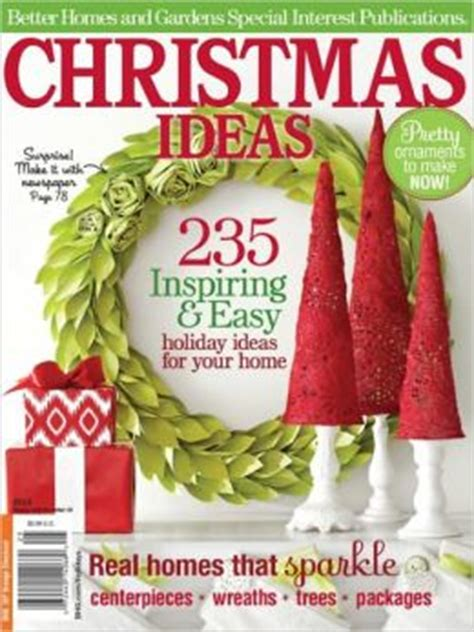 better homes and gardens christmas decorations better homes and gardens ideas 2012 by meredith corporation 2940043961297 nook