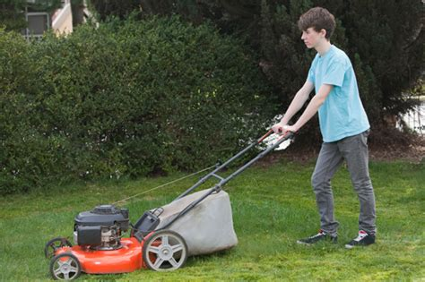mowing the lawn for the willow creek pediatrics summer safety tip lawn mowing