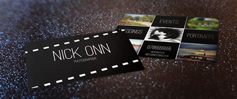 Solopress Business Card Template by Photographer S Business Card Free Template Tutorial