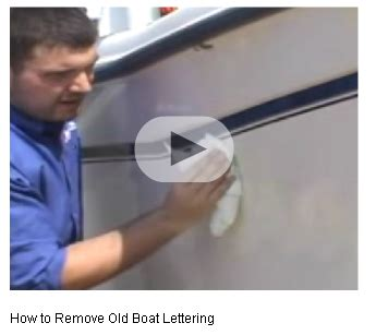 boatus name decals how to remove vinyl lettering boatus boating how tos