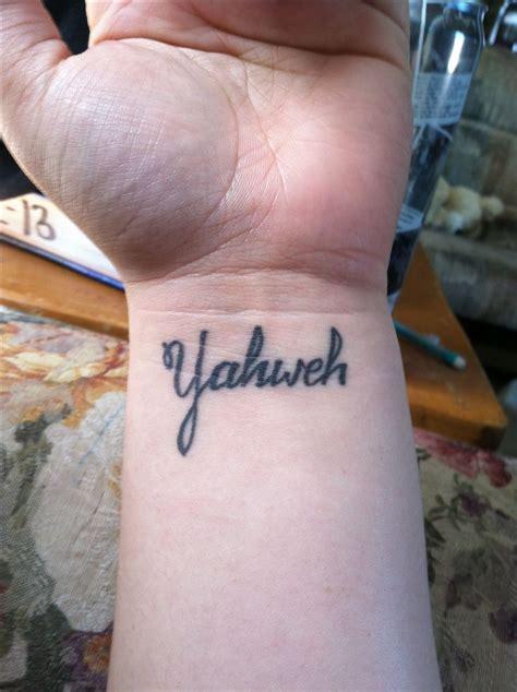 yahweh tattoo best 25 yahweh ideas on