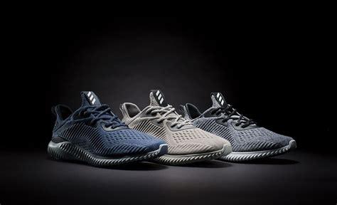 Adidas Alphabounce Engineered Mesh Collegiate Navyblack adidas alphabounce