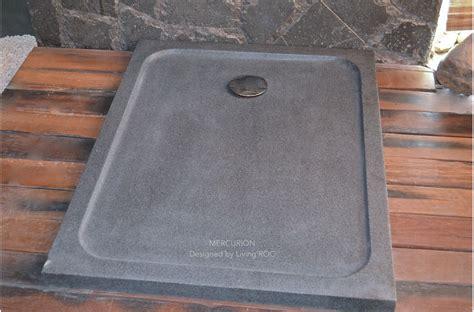 receveur de en naturelle receveur de 100x80 en mercurion taill 233 dans le granit