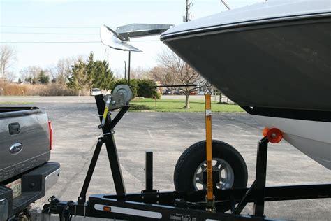 bow loading boat custom boat trailer bow stops loadmaster trailer co