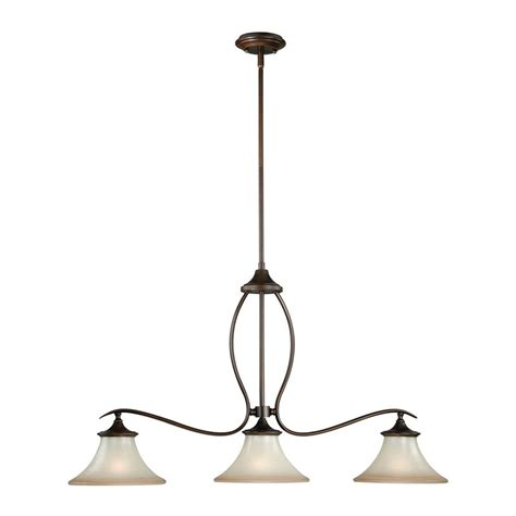 bronze kitchen lighting shop cascadia lighting sonora 36 in w 3 light venetian