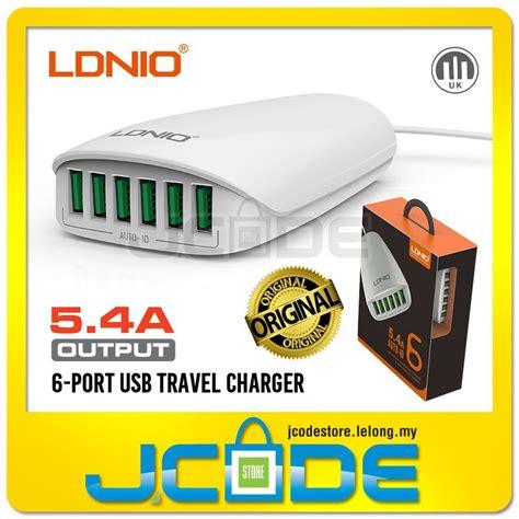 Murah Ldnio 6 Port Usb Charger Desktop Charger Adapter Usb original ldnio 5v 5 4a 6 port deskto end 2 22 2018 6 15 pm