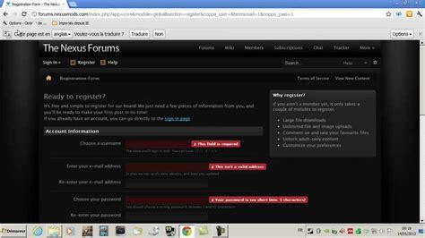 how to install boss skyrim skyrim nexus mod manager boss