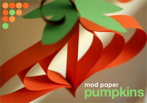 How To Make A Pumpkin With Construction Paper - 5 diys to bring autumn indoors thredit
