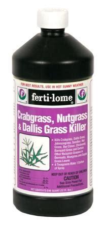 ferti lome crabgrass nutgrass dallis grass killer