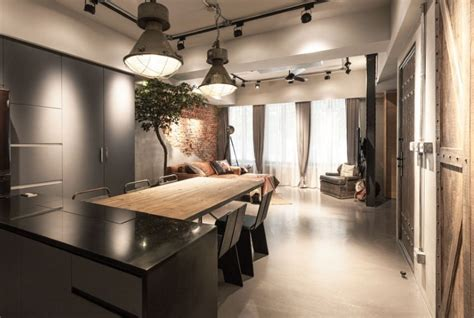 industrial apartment  taipei design