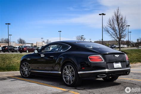 bentley continental 2016 bentley continental gt speed 2016 16 mars 2016 autogespot