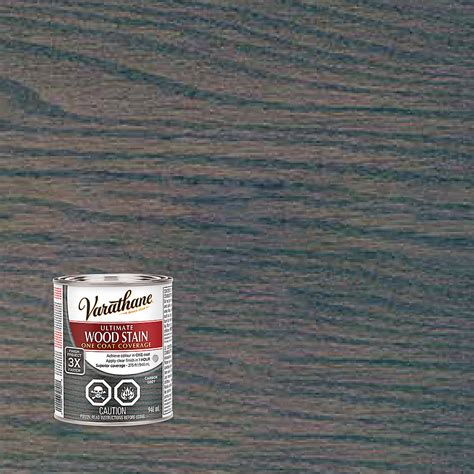 varathane ultimate stain carbon grey ml  home