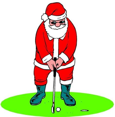 Christmas Designs christmas golf pictures clipart best
