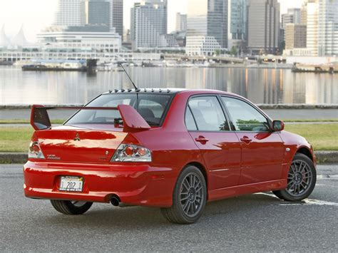 mitsubishi evo red mitsubishi lancer evolution price modifications