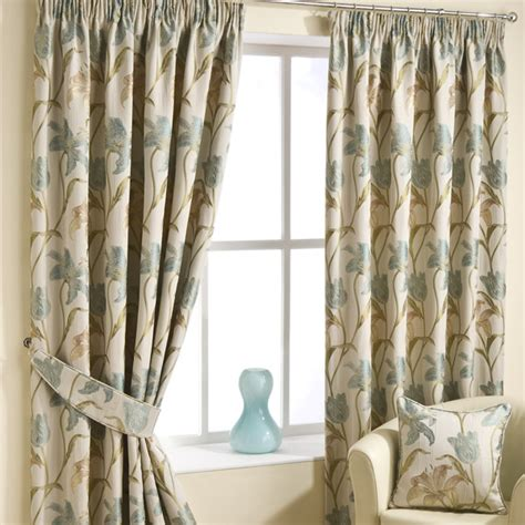 pencil pleat curtains ready made lily duckegg pencil pleat luxury ready made curtains
