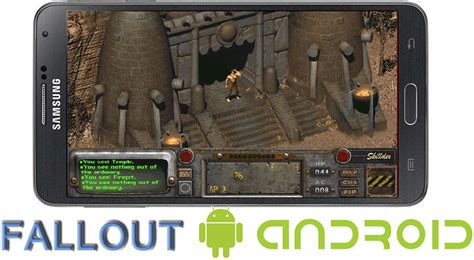 fallout on android play fallout 1 and fallout 2 on android some assembly required android authority