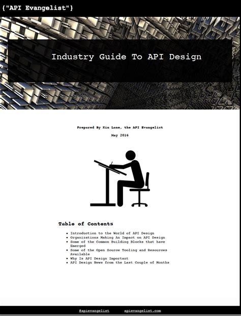 design guide definition the api evangelist api design guide