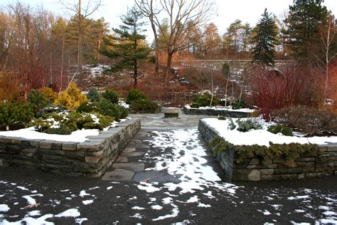 winterize garden cornell plantations winter garden ellis hollow