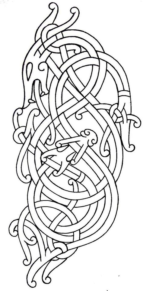 viking pattern meaning 188 best celtic norse tattoos images on pinterest