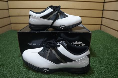 most comfortable mens golf shoes new callaway chev comfort mens golf shoe size 10 wide
