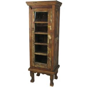 Curio Cabinets Rustic Rustic Wood Curio Cabinet Fall Front Porch