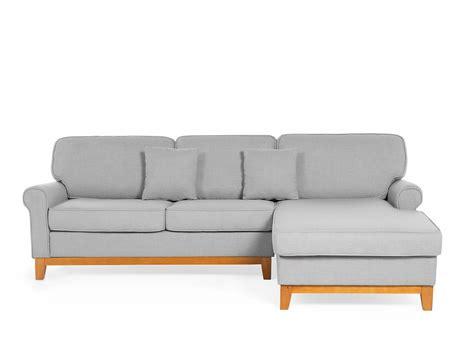corner l shaped sofa corner sofa upholstered fabric modular l shaped light grey