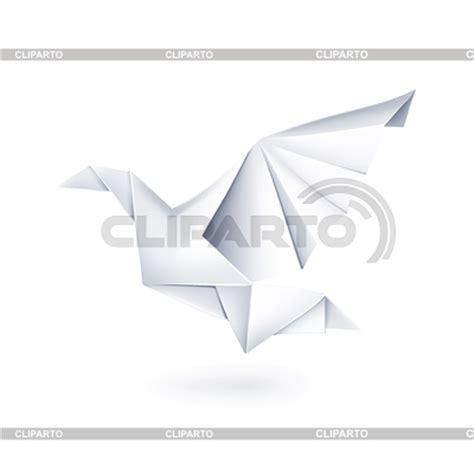 Paper Dove Origami - taube stock fotos und vektorgrafiken cliparto